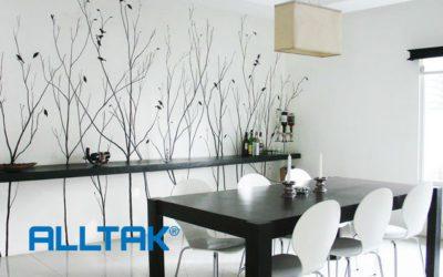 Renove o visual da sua sala de jantar com adesivo de parede