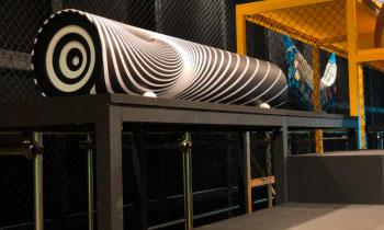 Alltak na exposição Be Brasil durante a Semana de Design em Milão