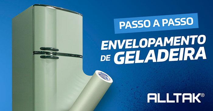 Envelopamento de geladeira: Como funciona a aplicação?