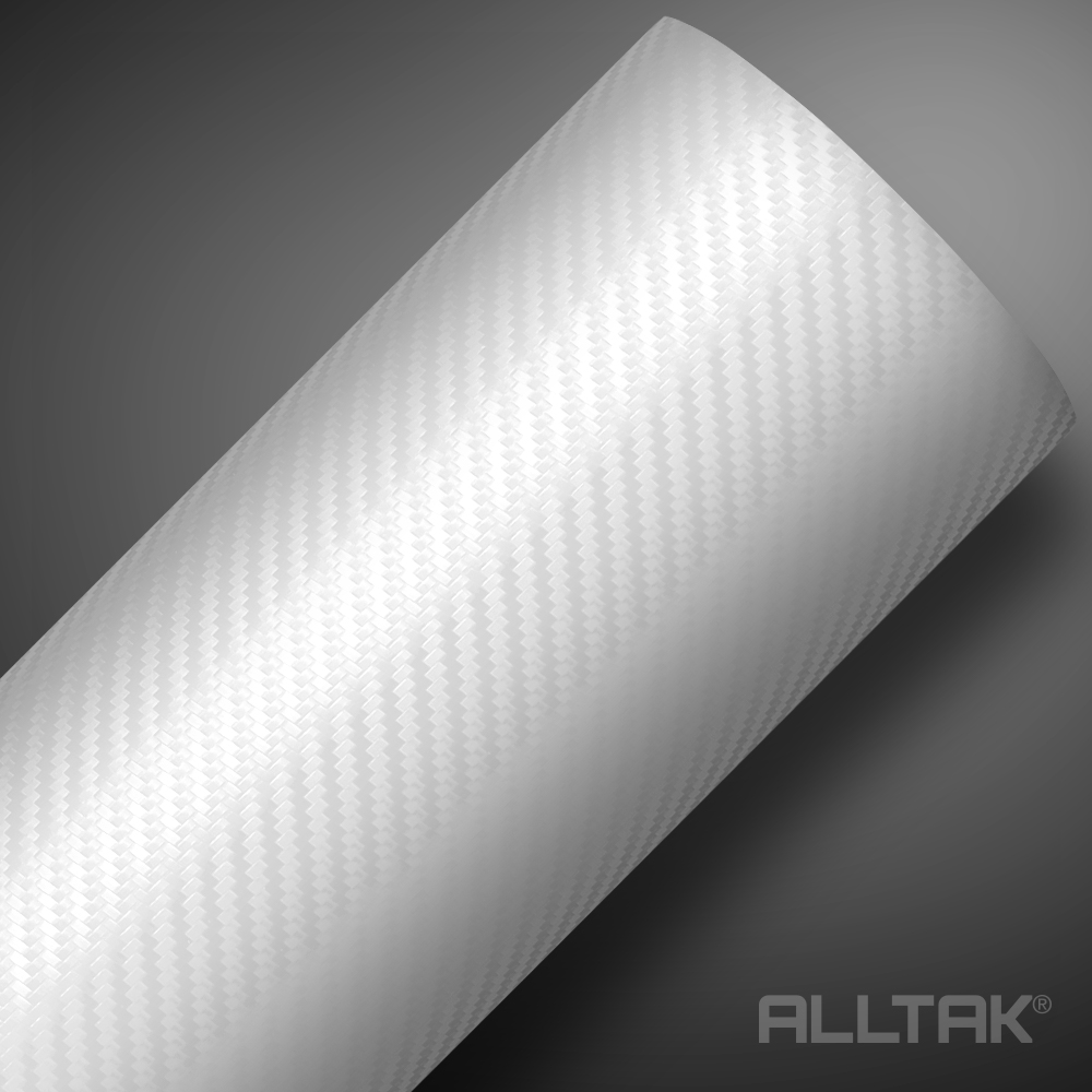 COD 18C10 - Fibra de Carbono Branco - Linha Alltak Tuning
