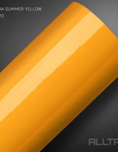 Ultra Summer Yellow | Alltak Envelopamento Automotivo