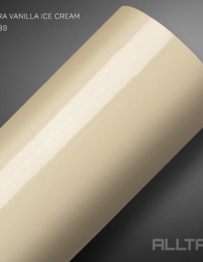Ultra Vanilla Ice Cream | Alltak Envelopamento Automotivo