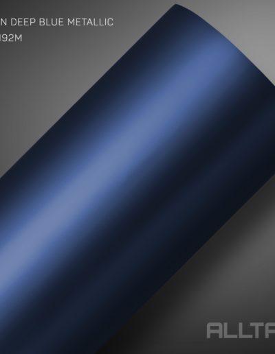Linha Satin Deep Blue Metallic | Alltak Envelopamento Automotivo