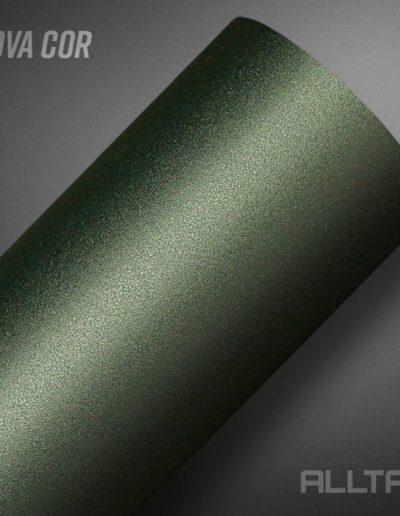 Linha Jateado Araucária Green Metallic | Alltak Envelopamento Automotivo
