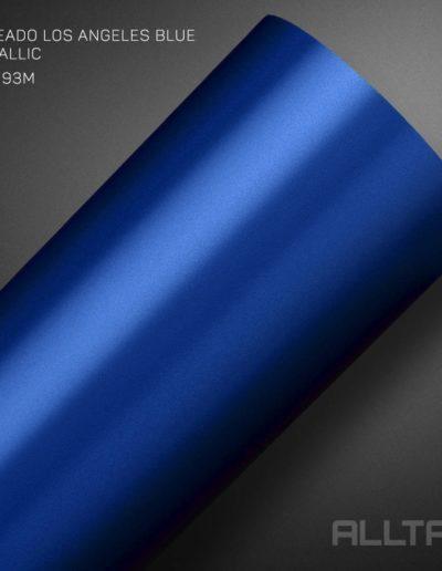 Jateado Los Angeles Blue Metallic | Alltak Envelopamento Automotivo