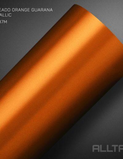 Linha Jateado Orange Guarana Metallic | Alltak Envelopamento Automotivo