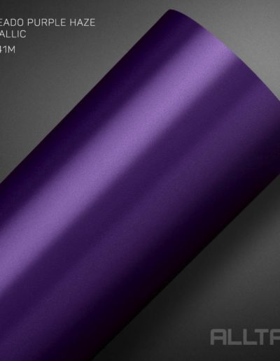 Linha Jateado Purple Haze Metallic | Alltak Envelopamento Automotivo