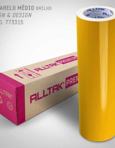 Sign & Design Amarelo Médio | Alltak Envelopamento Automotivo