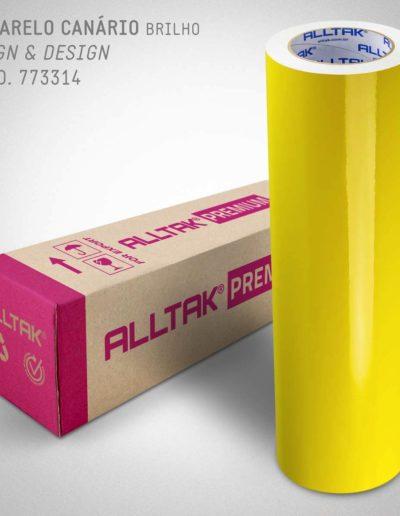 Sign & Design Amarelo Canário | Alltak Envelopamento Automotivo