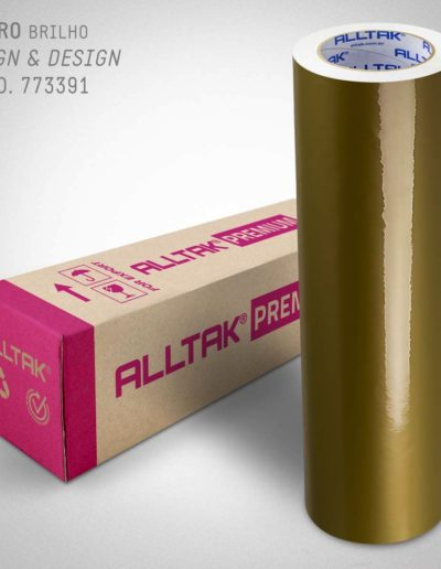 Sign & Design Ouro | Alltak Envelopamento Automotivo