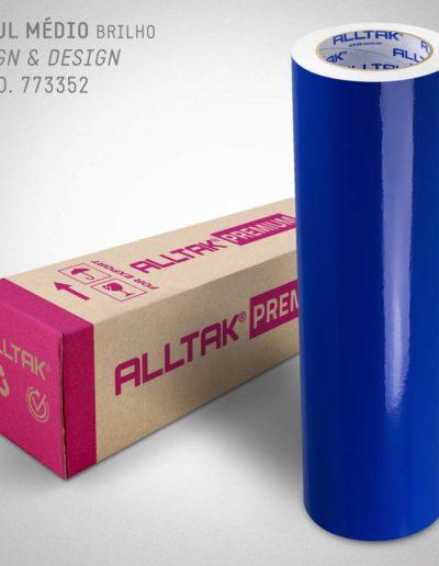 Sign & Design Azul Médio | Alltak Envelopamento Automotivo