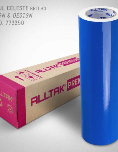 Sign & Design Azul Celeste | Alltak Envelopamento Automotivo