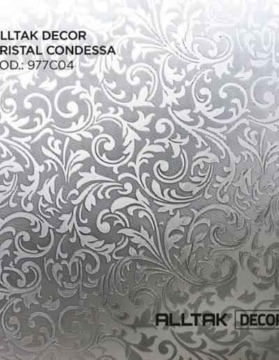 Alltak Decor Cristal Condessa   Alltak Adesivos Automotivo