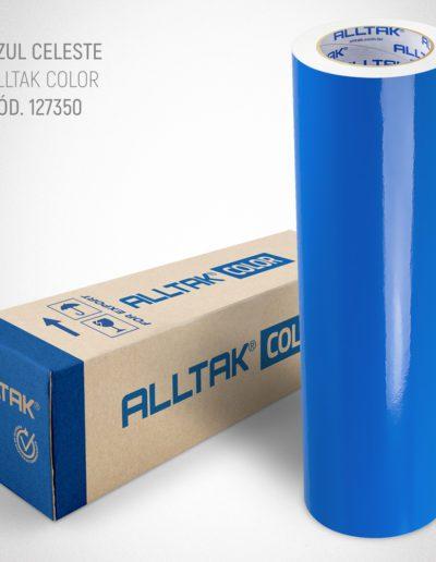 Linha Color Azul Celeste | Alltak Envelopamento Automotivo