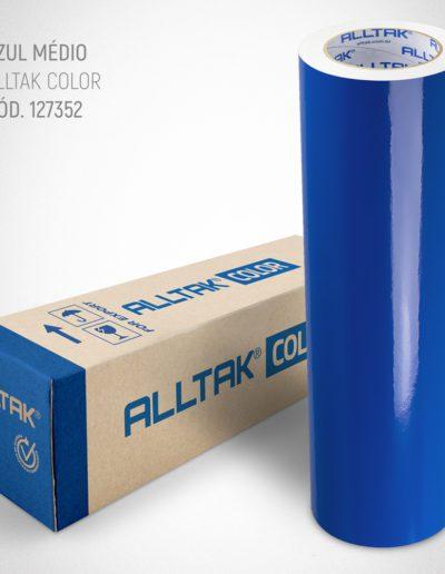 Linha Color Azul Médio | Alltak Envelopamento Automotivo