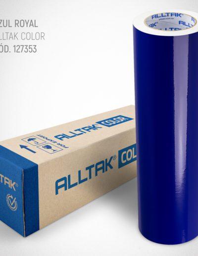 Linha Color Azul Royal | Alltak Envelopamento Automotivo