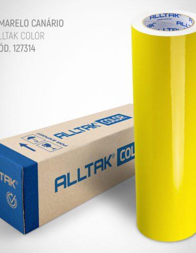 Linha Color Amarelo Canário | Alltak Envelopamento Automotivo