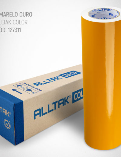 Linha Color Amarelo Ouro | Alltak Envelopamento Automotivo