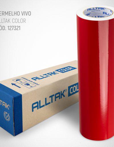 Linha Color Vermelho Vivo | Alltak Envelopamento Automotivo