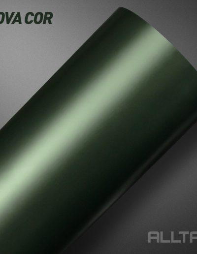 Linha Satin Araucária Green Metallic | Alltak Envelopamento Automotivo