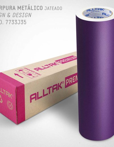 Púrpura Metálica Jateado - 7733J70 | Alltak Decor