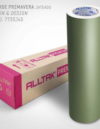 Verde Primavera Jateado - 7733J45 | Alltak Decor