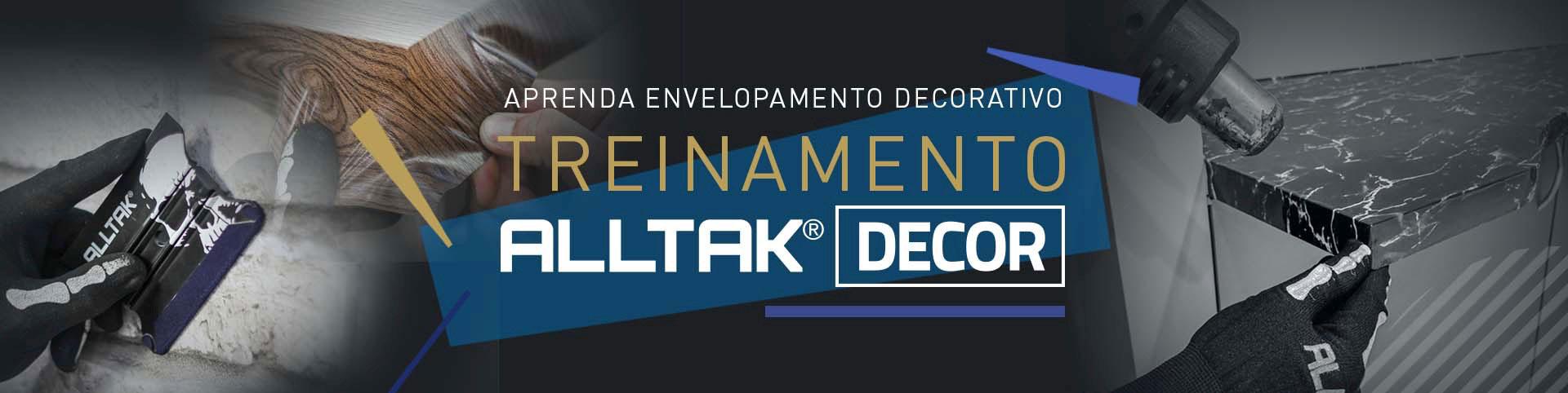Aprenda Envelopamento Decorativo - Alltak Decor
