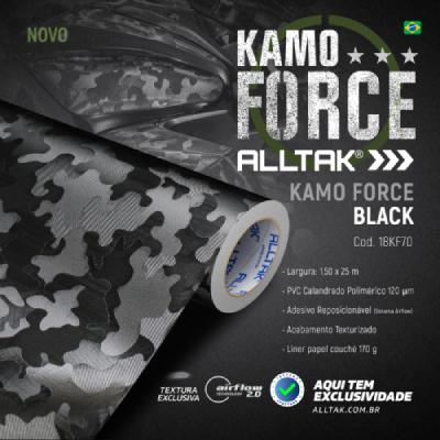 Novidades Alltak: Conheça os adesivos Forged Black e Kamo Force Black
